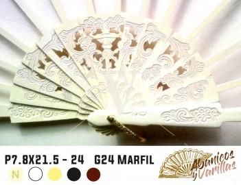 P7.8X21.5 G24 Marfil