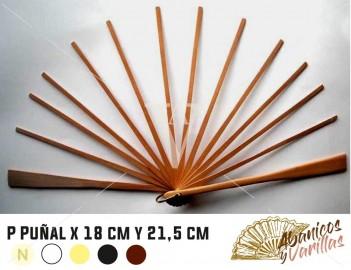 PUÑAL X 18 cm y 21.5 cm